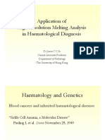 Application of High Resolution Melting Analysis in Haematological Diagnosis