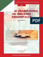 Trasplante de Organo. Libro.aec