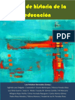 Libro Temas de Historia de La Educación