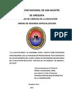 Informe Unsa