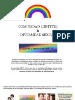Comunidad Lgbttti y Ds