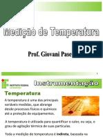Instrumentação Parte 5 Temperatura