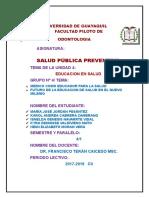 Salud Publica Unidad 4