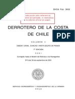 3002 - Derrotero de La Costa de Chile II