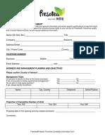 Presotea® Candidate Information 2018