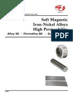 Soft+magnetic++Iron-Nickel++alloys