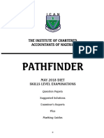 Pathfinder May 2018 Skills