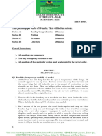 Class 9 English Cbse Sample Paper Download Sa2