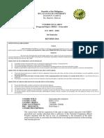 SYLLABUS Curriculum Development (2)