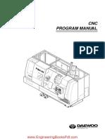 Fanuc OT CNC Program Manual Gcode Training 588