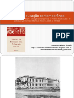 10-06-2019 - RESUMO- Brasil a Educaçao Contemporanea - Aranha