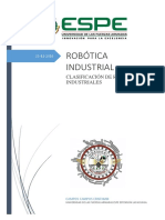 Clasificacion Del Robot Industrial
