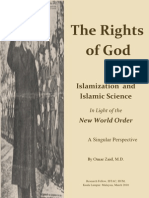 29161810 the Rights of God Islamization Islamic Science in Light of the New World Order