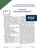 Emergencias Medicas II APAA