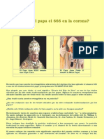 La Tiara de San Pedro y el número 666