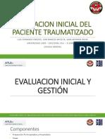 Evaluacion Inicial Del Paciente Traumatizado