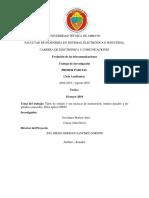 Informe Ejecutivo(evolución de las telecomunicaciones) UTA