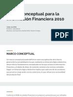 Resumen Marco Conceptual Para La Información Financiera 2010
