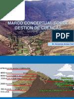 Marco Conceptual Sobre Cuencas