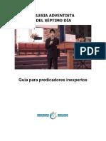 Guía para predicadores inexpetos (Iglesia Adventista del Séptimo Día).docx