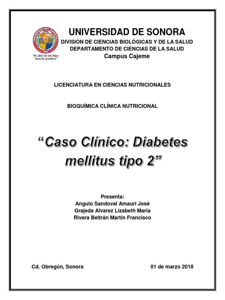 casos clínicos de diabetes mellitus