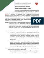 Contrato Puquio Pamparomas