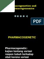 7. Farmakogenomik farmakogenetik