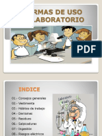 reglas para uso de laboratorio escolar