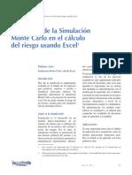 Simulación monte Carlo
