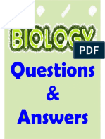 Biology Questions and Answers