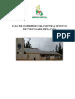 Plan Emergencias y Desastres Cs. Ctza