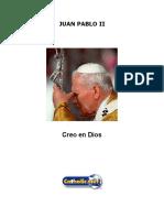 Creo en Dios (Juan Pablo II)