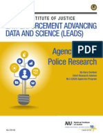 Agency Based Police Research Cordner Brief Nij