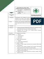Penyimpanan Obat-obat Emergensi Di Unit Pelayanan Ok