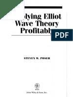 Applying Elliott Wave Theory Profitably