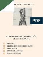 (13) Manejo Del Teodolito