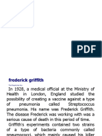 Το Πειραμα του Griffith 1928