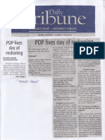 Daily Tribune, June 11, 2019, PDP fixes day of reckoning.pdf