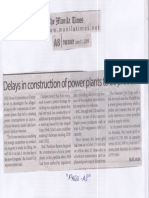 Manila Times, June 11, 2019, Delays in construction of power plants to be probed.pdf