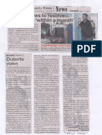 Manila Times, June 11, 2019, Duterte vows to resolve NAIA woes within a month.pdf