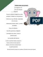 Poema Para Un Elefante