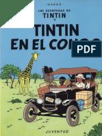 01 - Tintin en El Congo