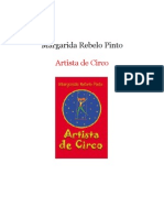 Margarida Rebelo Pinto - Artista de Circo