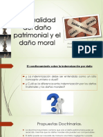 La Dualidad Del Daño Patrimonial y El Daño
