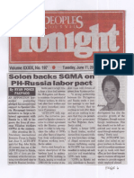 Peoples Tonight, June 11, 2019, Solon backs SGMA on PH-Russia labor pact.pdf
