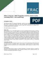 Frac Code List 2018-Final