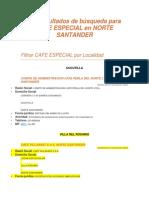 151 Resultados de Búsqueda Para Cafe Especial en Norte Santander