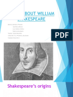 facts about willian shakespeare