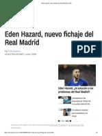 Eden Hazard, Nuevo Fichaje Del Real Madrid _ CNN