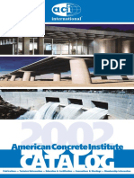 ACI Catalogue 2002